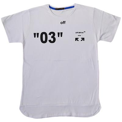 تیشرت مردانه کد X314 رنگ سفید