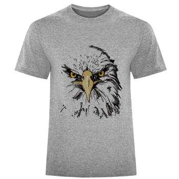 تی شرت مردانه طرح عقاب کد S284