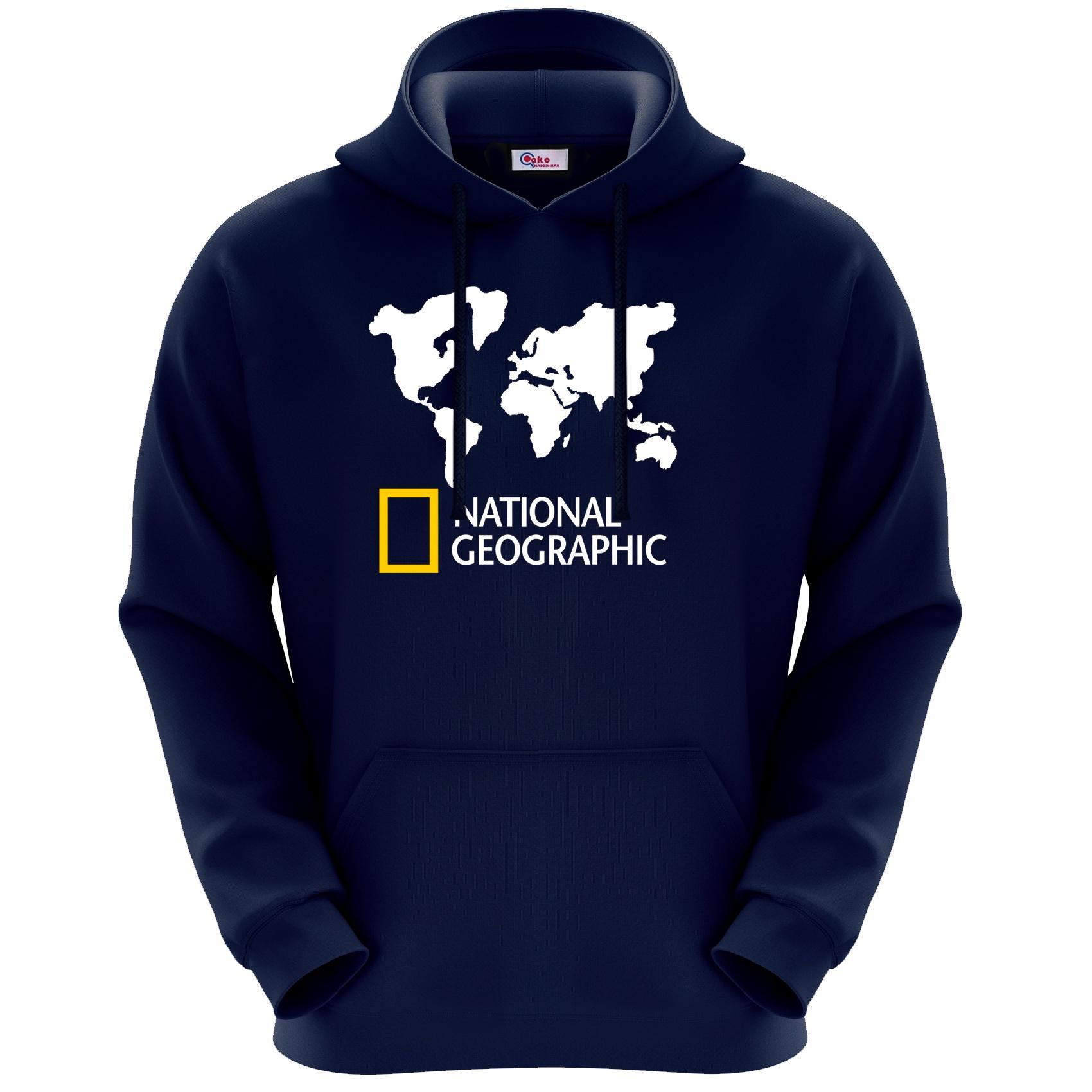 هودی مردانه اکو مدل National geographic کد M237