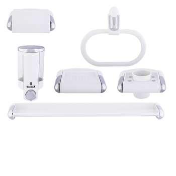ست سرویس بهداشتی 6 پارچه نگار مدل NW607