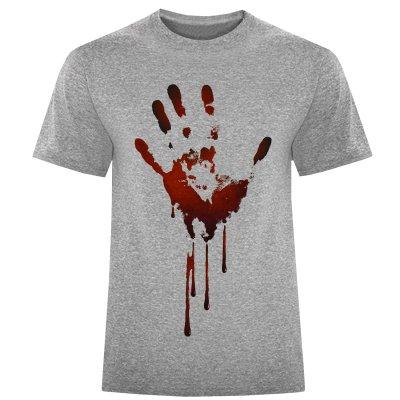 تصویر تی شرت مردانه طرح دست کد S330