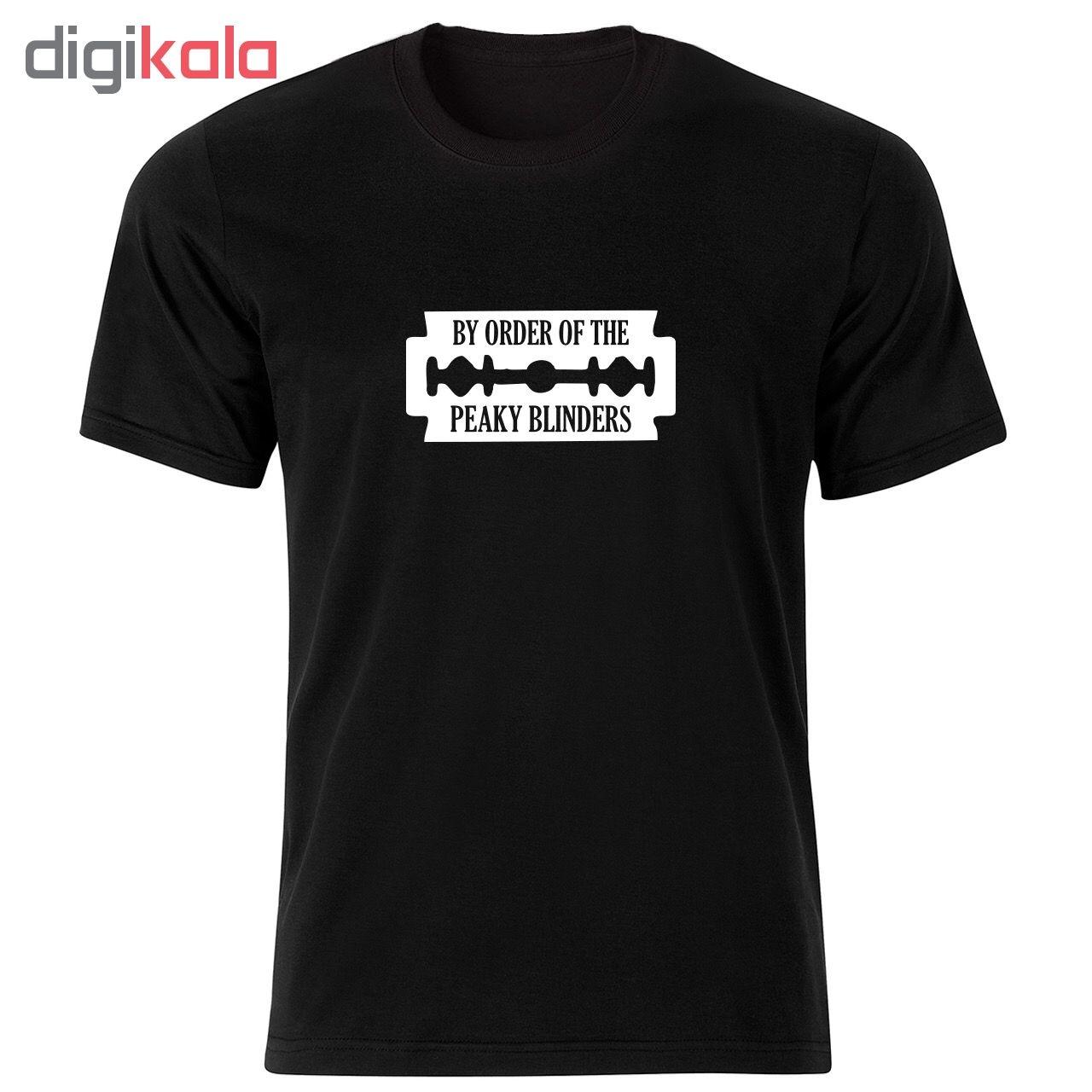 تی شرت آستین کوتاه نه طرح پیکی بلایندرز کد 34334