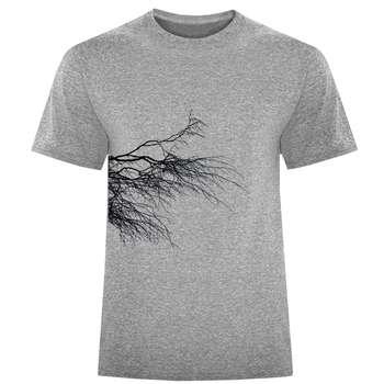 تی شرت مردانه طرح شاخه کد S329