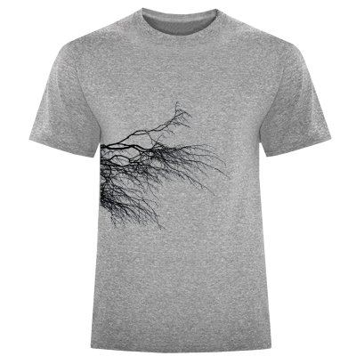 Photo of تی شرت مردانه طرح شاخه کد S329