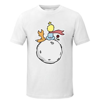 تصویر تی شرت زنانه طرح شازده کوچولو کد asd087