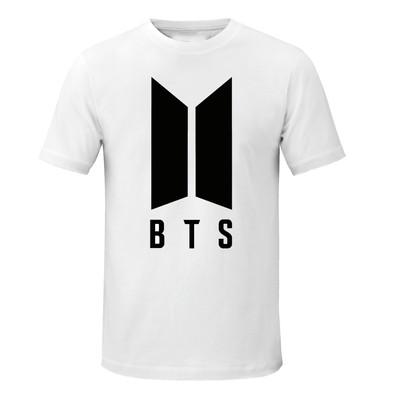 تی شرت زنانه طرح BTS کد asd088