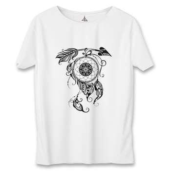 تی شرت زنانه به رسم طرح تیر دریم کچر کد 5550