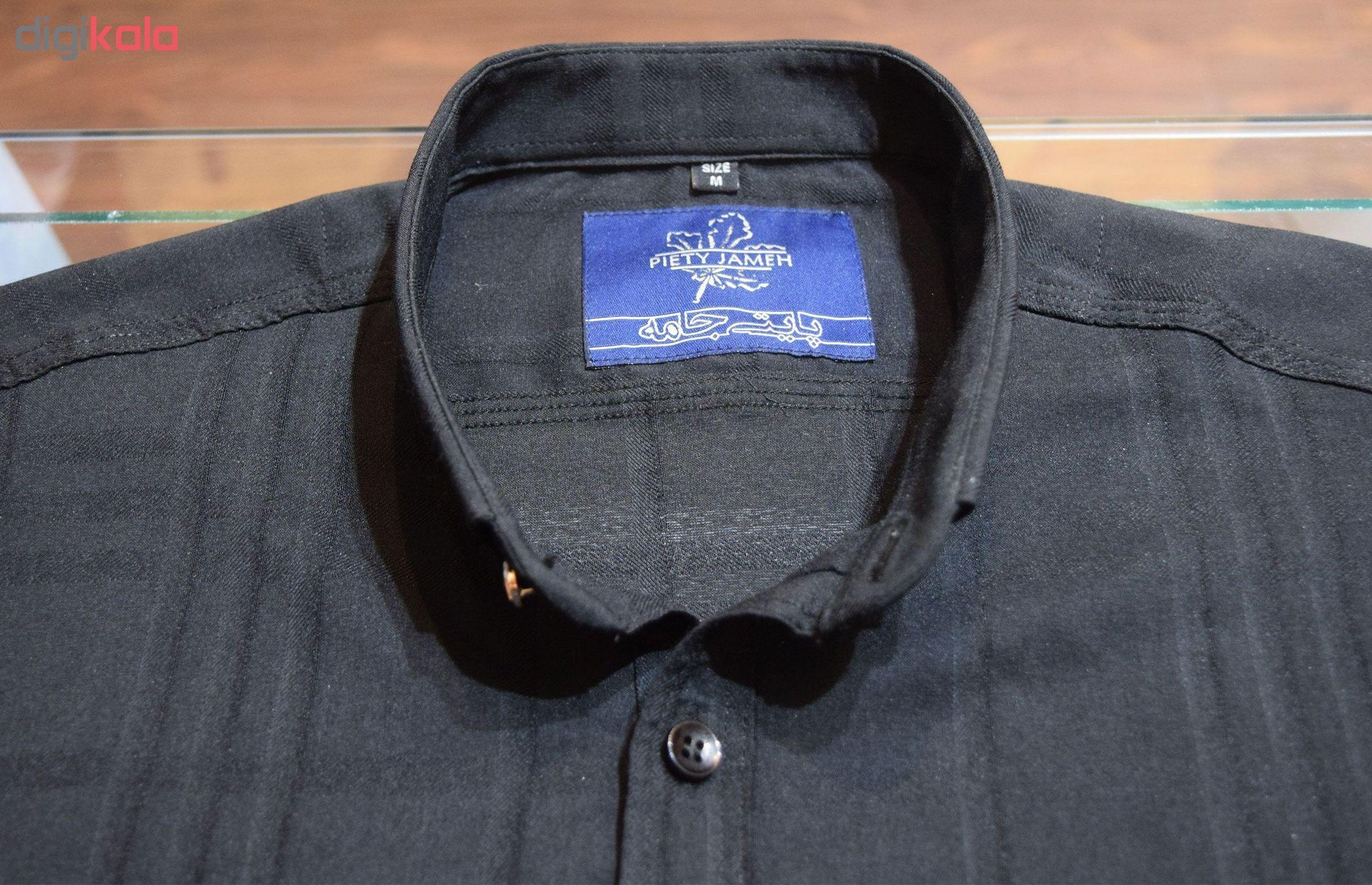 پیراهن مردانه پایتی جامه کد 1944489 main 1 6