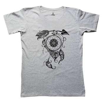 تی شرت زنانه به رسم طرح دریم کچر کد 4450