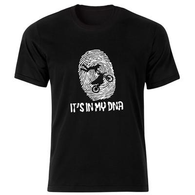 تصویر تی شرت مردانه طرح موتور سواری کد 34350