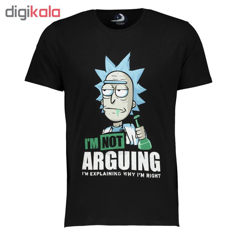 تی شرت مردانه طرح ریک و مورتی کد 002
