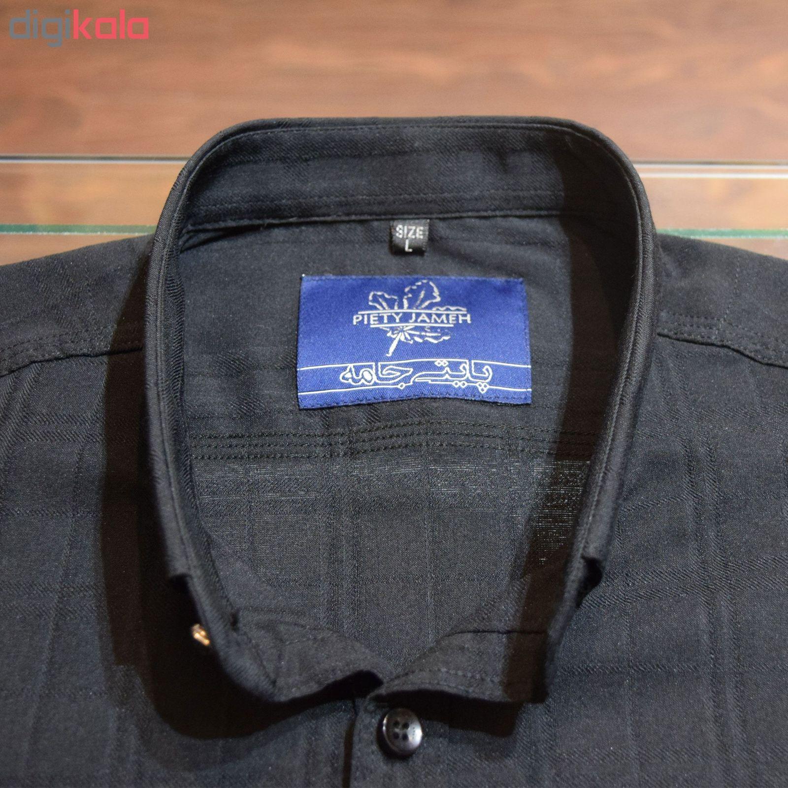 پیراهن مردانه پایتی جامه کد 1944403 main 1 4