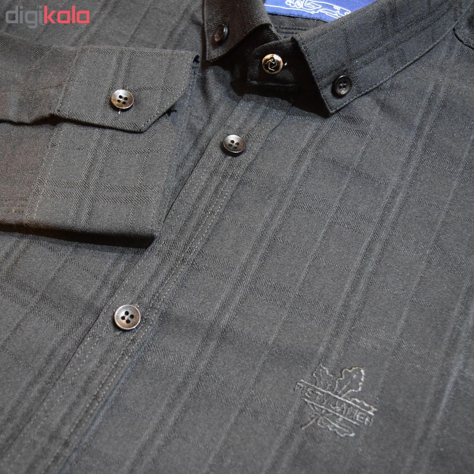 پیراهن مردانه پایتی جامه کد 1944403 main 1 5
