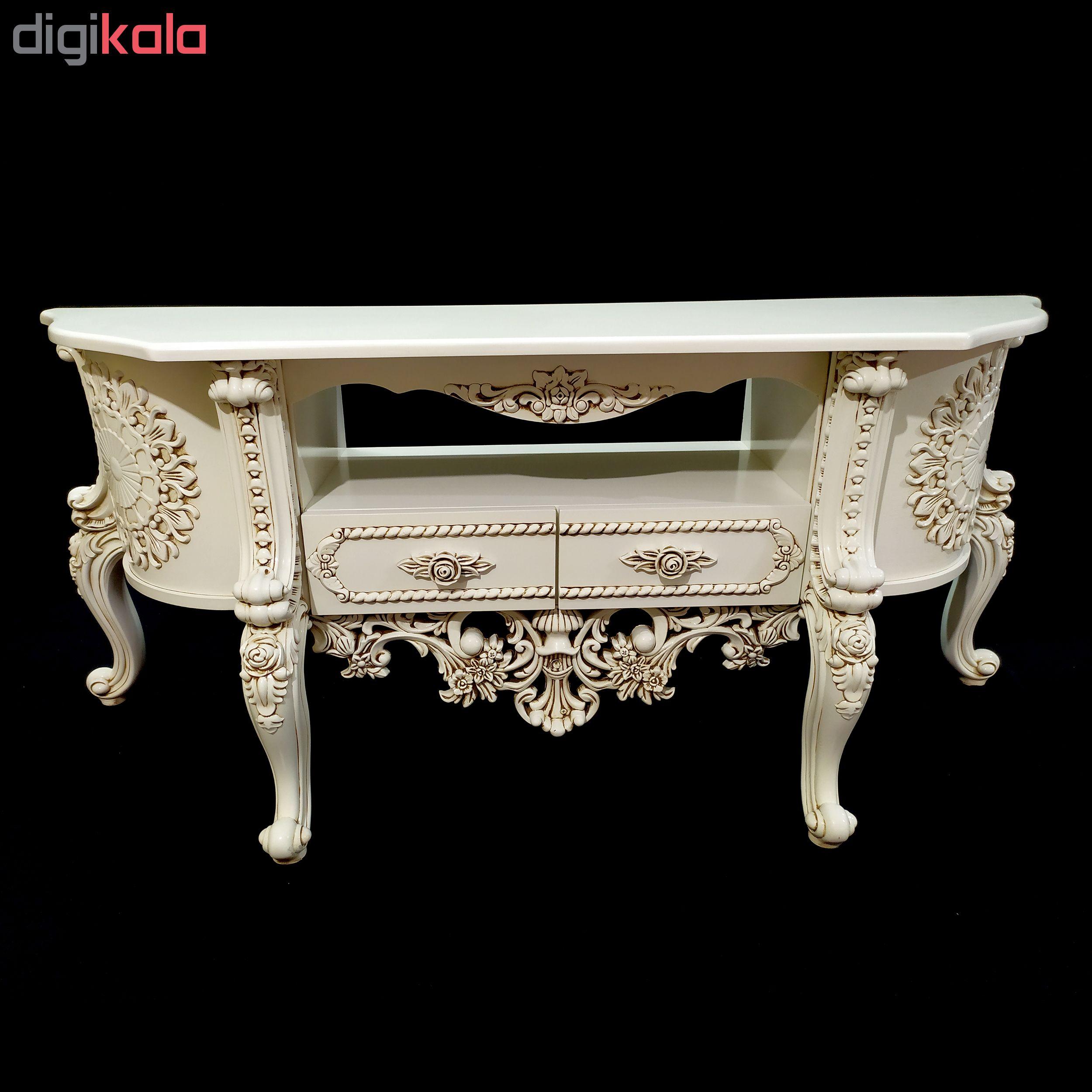 میز تلویزیون مدل گلوریس