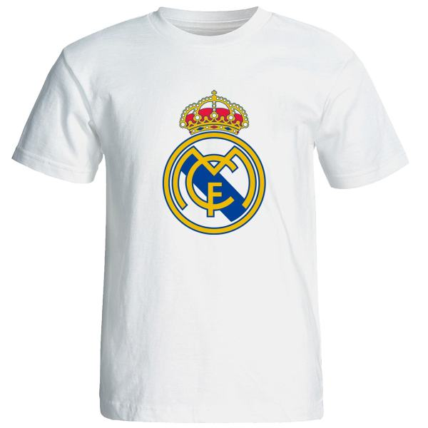 تیشرت آستین کوتاه مردانه طرح رئال مادرید کد 9333