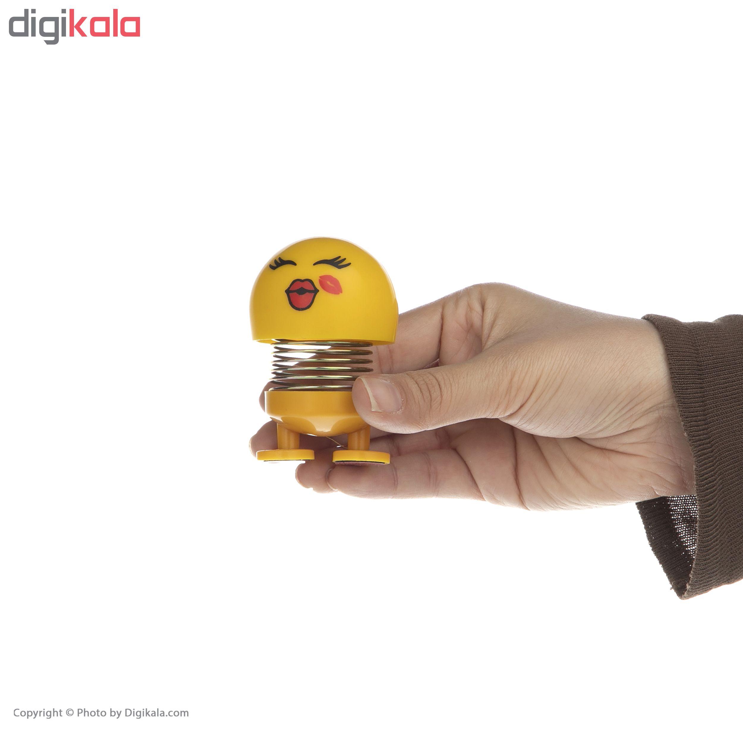 عروسک فنری طرح ایموجی کد 40