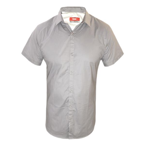 پیراهن مردانه لیوایز کد AS08 رنگ طوسی