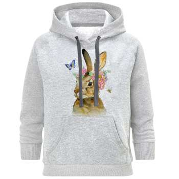 هودی زنانه طرح خرگوش کد S384
