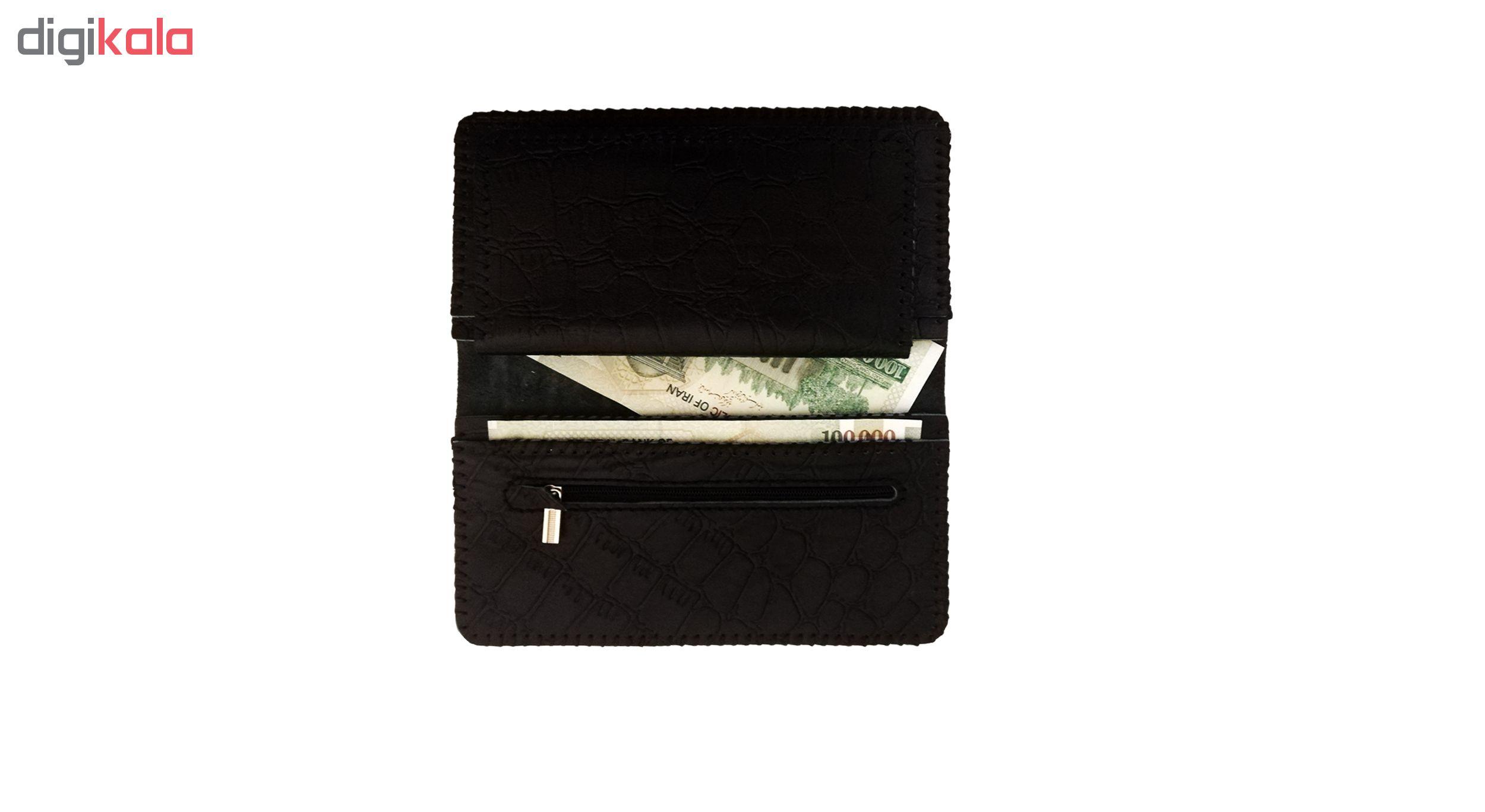 کیف پول چرمی کد MRK9