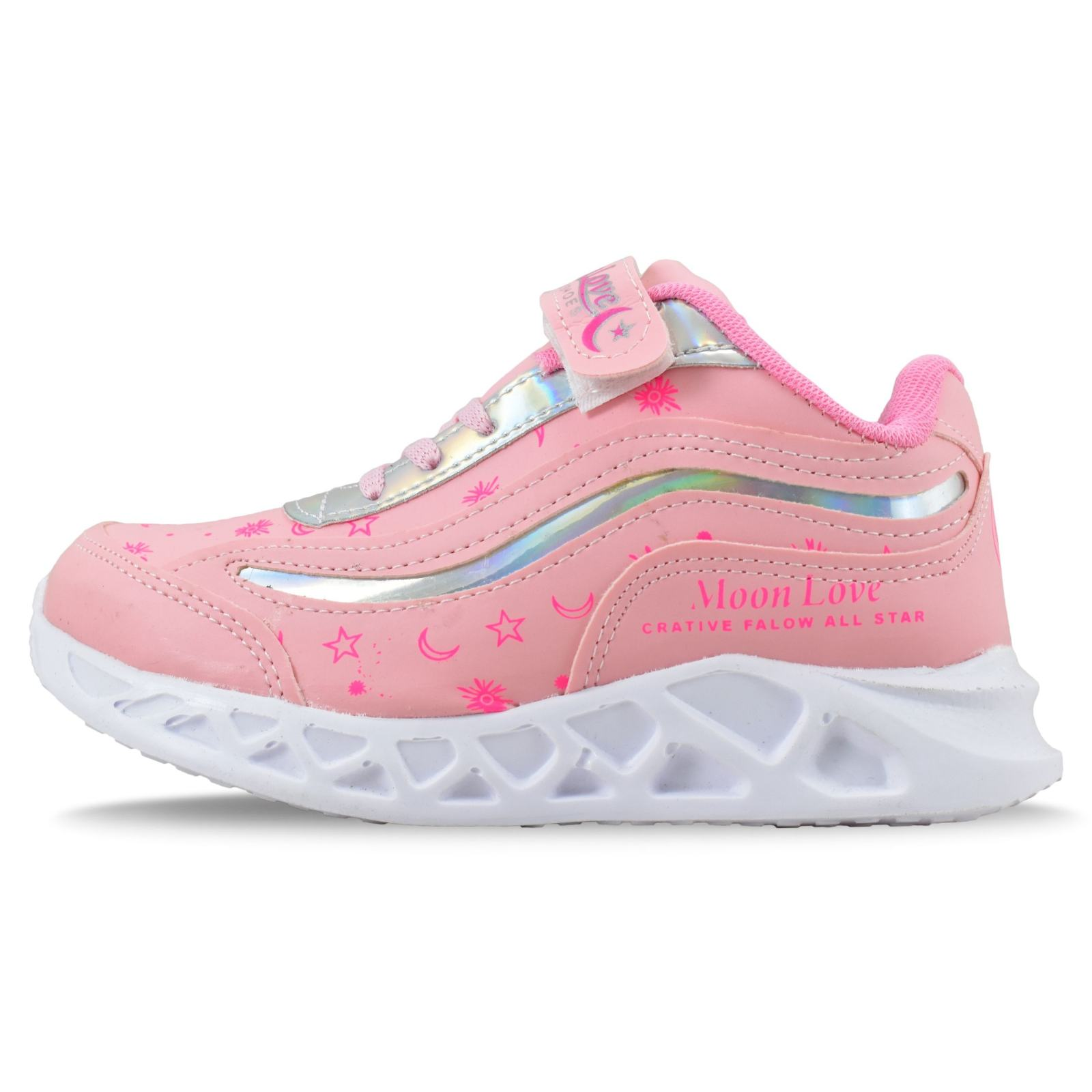 کفش راحتی دخترانه مون لاو کد 4583 main 1 1
