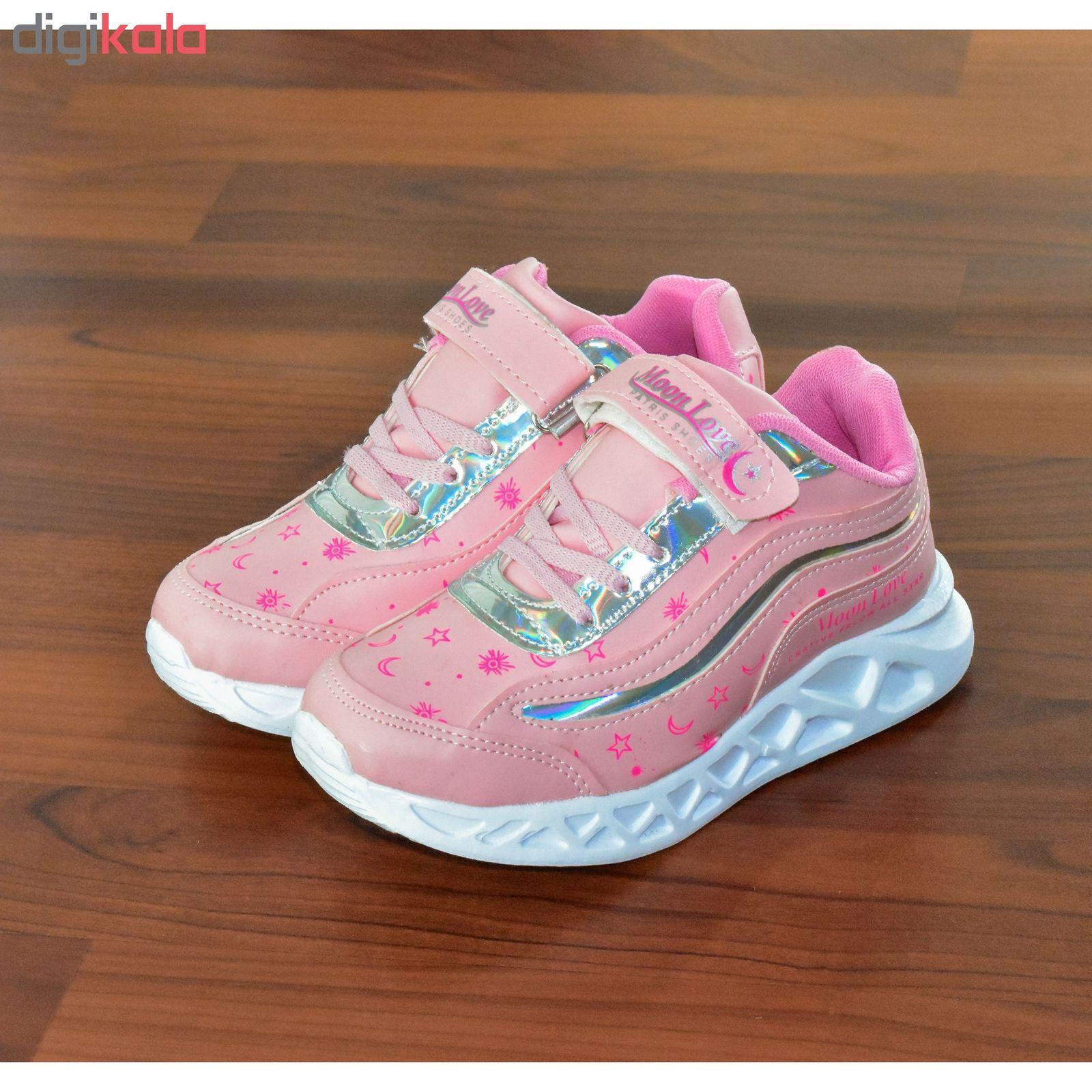 کفش راحتی دخترانه پاتریس مدل ستاره کد 4583 main 1 2