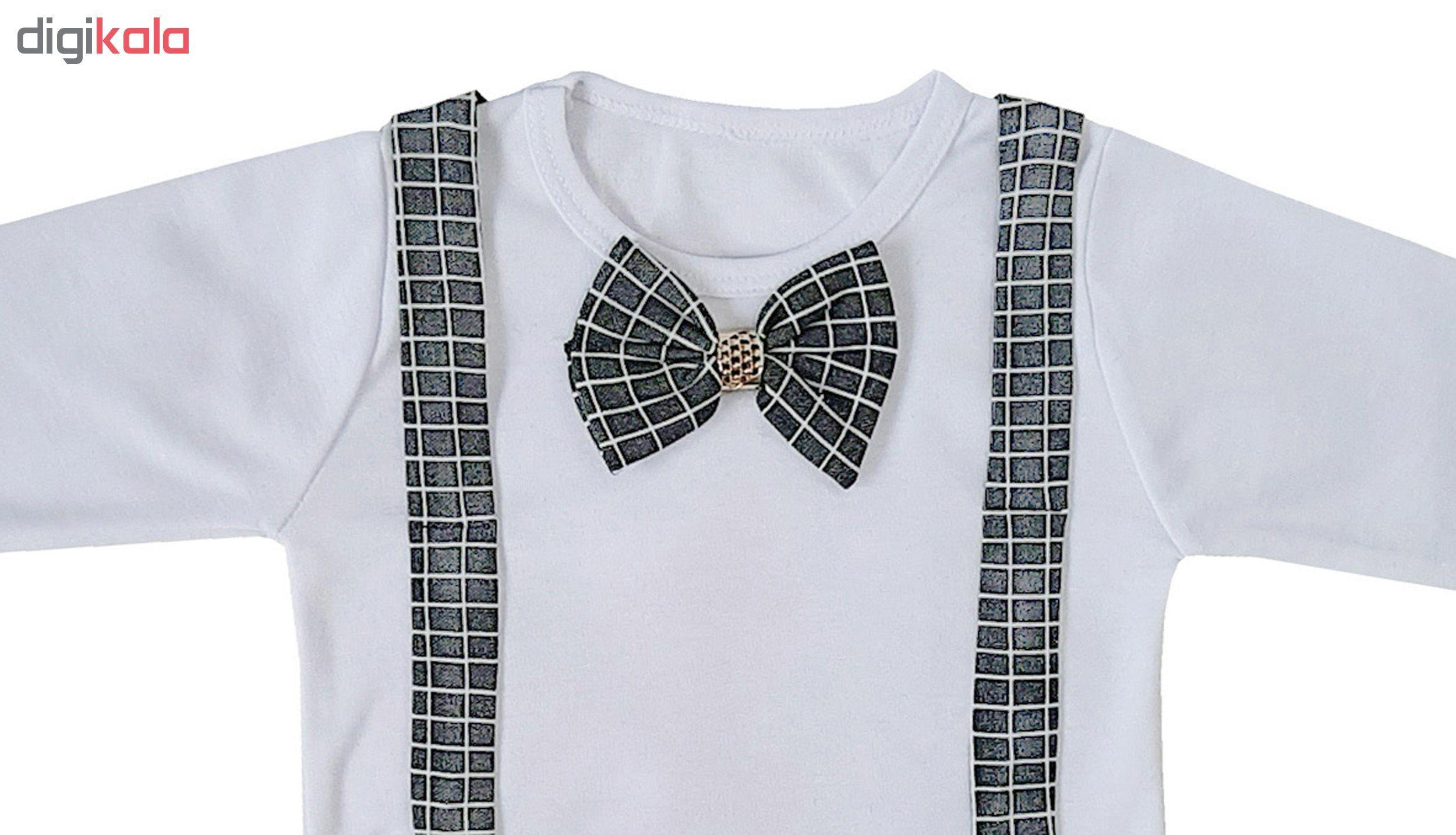 ست تی شرت و شلوار پسرانه کد FB50