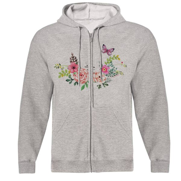 سویشرت زنانه طرح گل کد S24