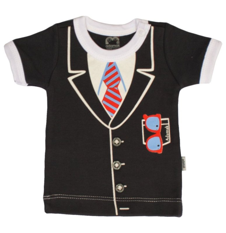 ست 5 تکه لباس نوزادی پسرانه آدمک مدل جنتلمن کد 02