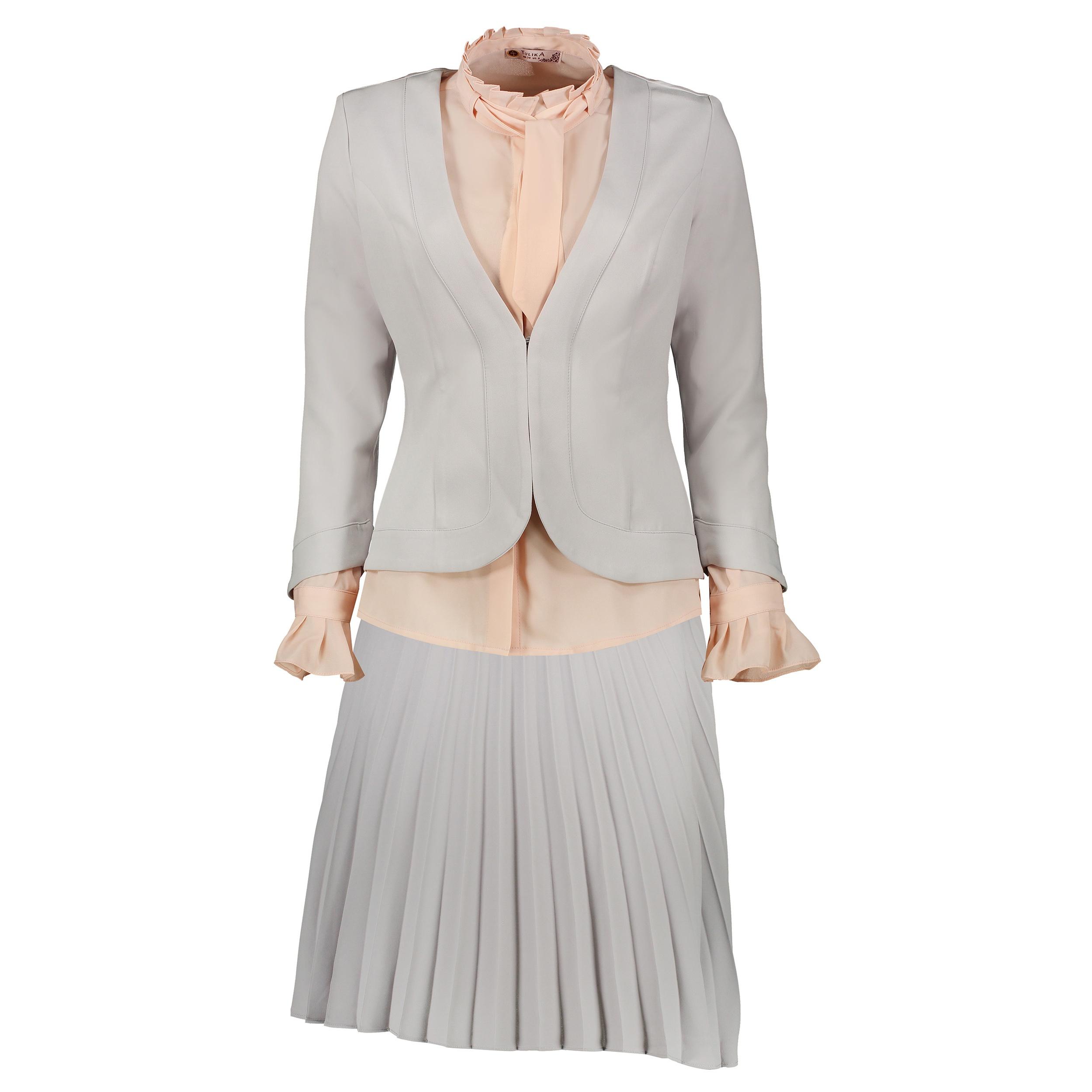 ست 3 تکه لباس زنانه تولیکا کد 4147201