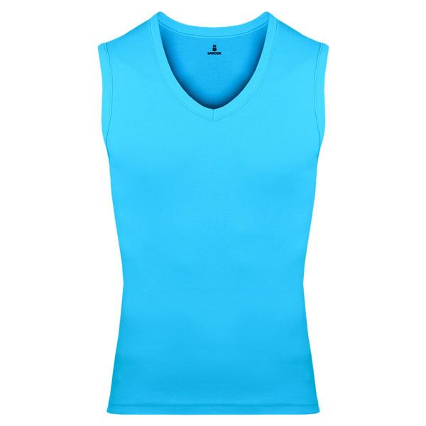 تاپ مردانه ساروک مدل TMV02 رنگ آبی فیروزه ای