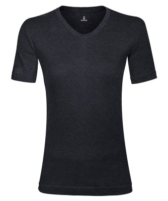 تی شرت زنانه ساروک مدل TZV13 رنگ ذغالی
