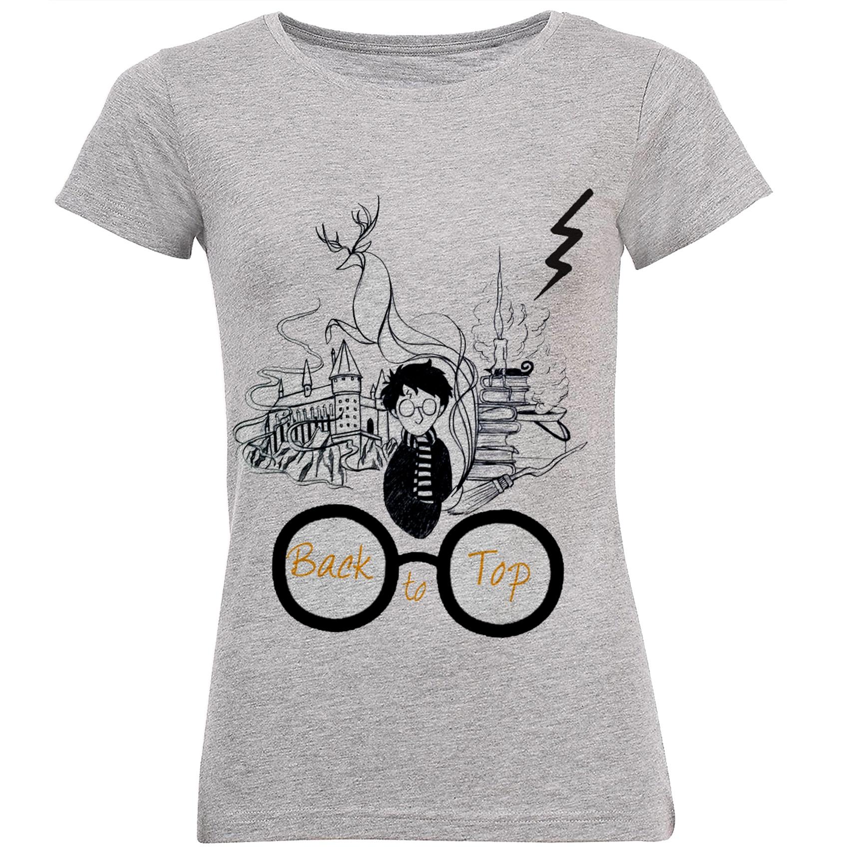 Photo of تی شرت زنانه طرح هری پاتر کد B191