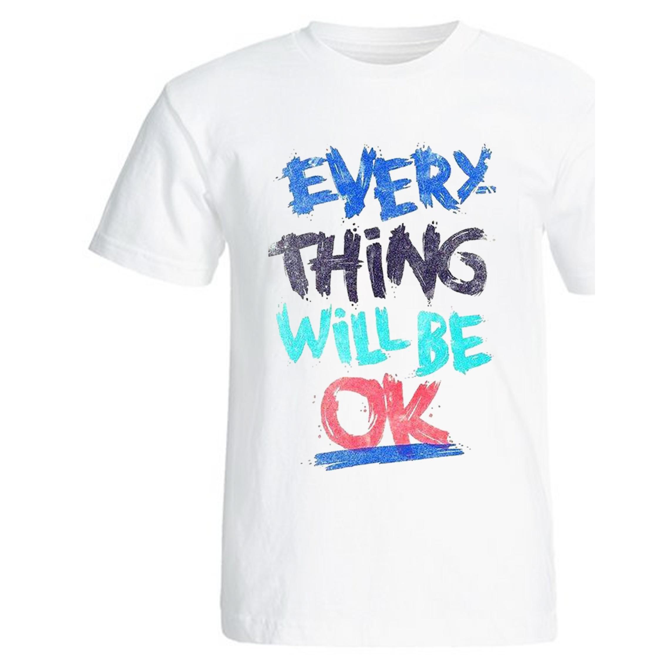 تصویر تی شرت آستین کوتاه زنانه کد Zw671