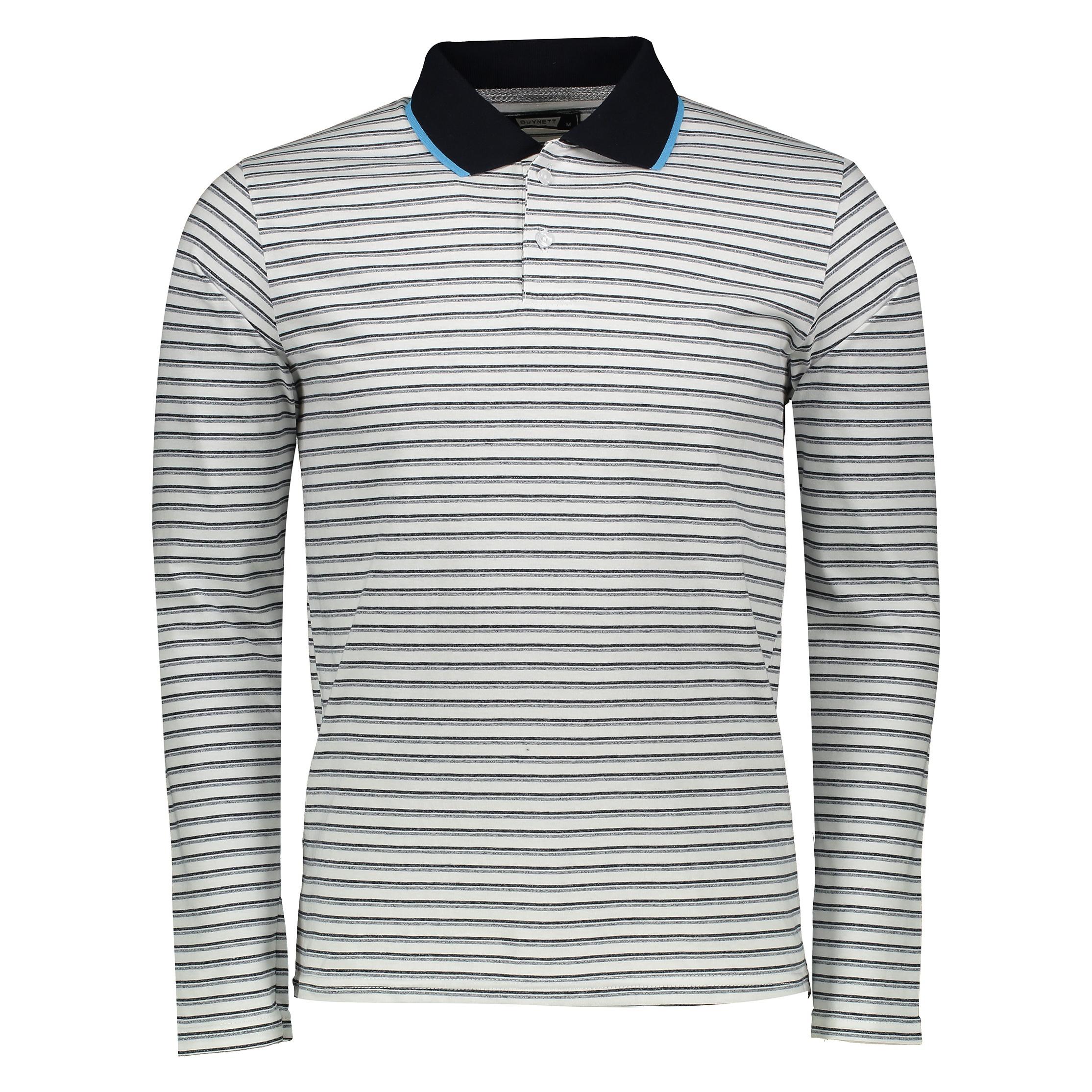پولو شرت آستین بلند مردانه باینت کد 350-1