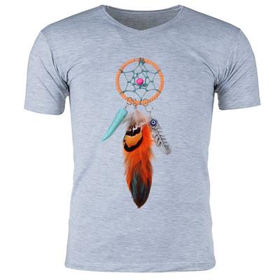 تصویر تی شرت آستین کوتاه مردانه طرح دریم کچر کد b671
