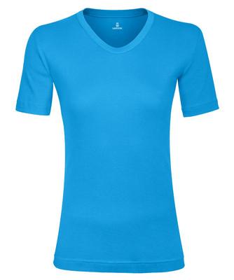 تصویر تی شرت زنانه ساروک مدل TZV12 رنگ فیروزه ای