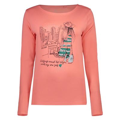 تی شرت آستین بلند زنانه کد af0016