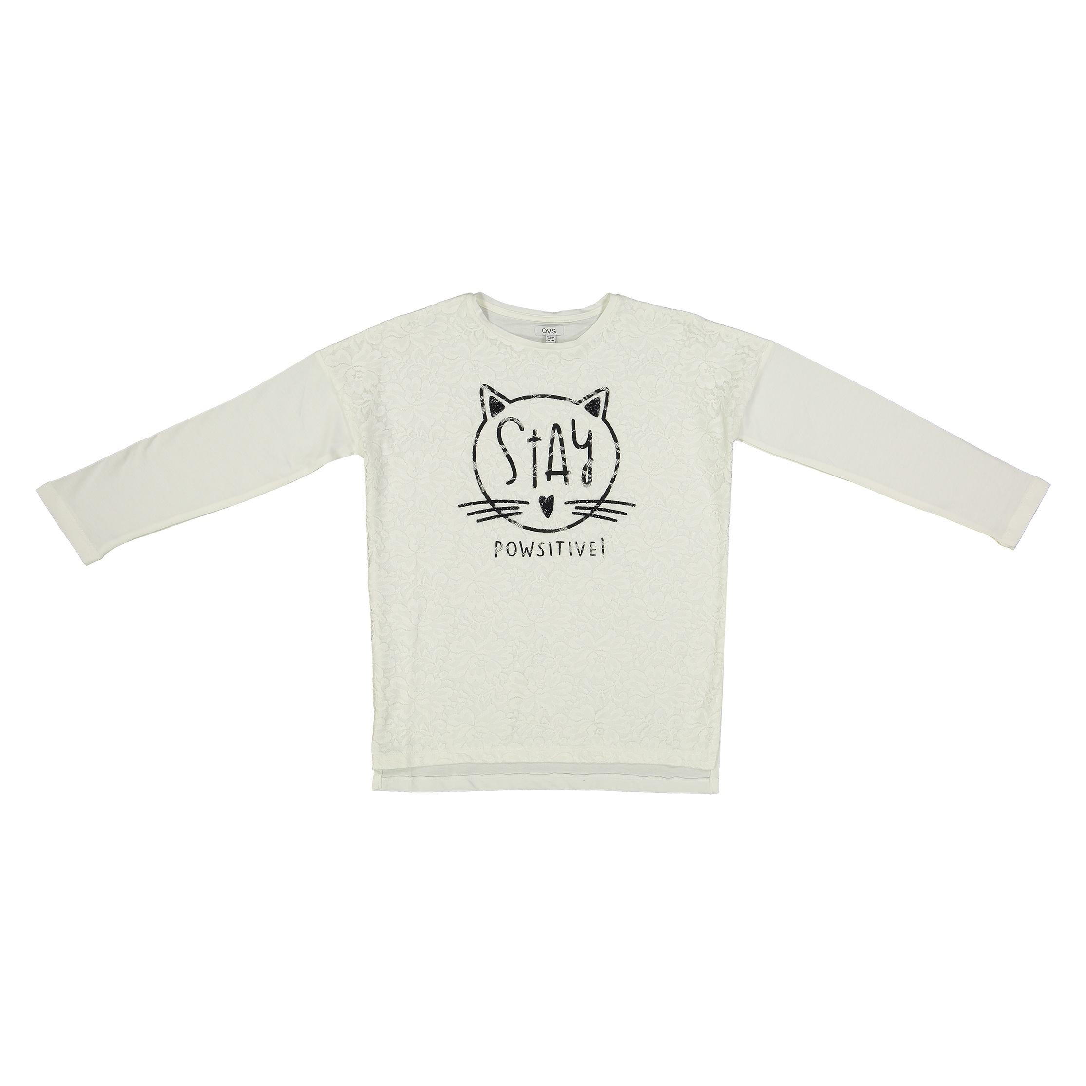 تی شرت دخترانه او وی اس مدل 1511246