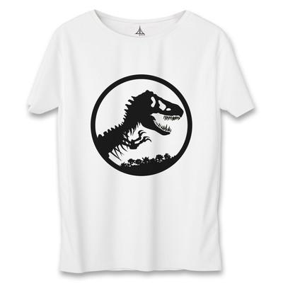 تصویر تی شرت مردانه به رسم طرح دایناسور کد 3354