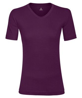 تی شرت زنانه ساروک مدل TZV11 رنگ بنفش تیره