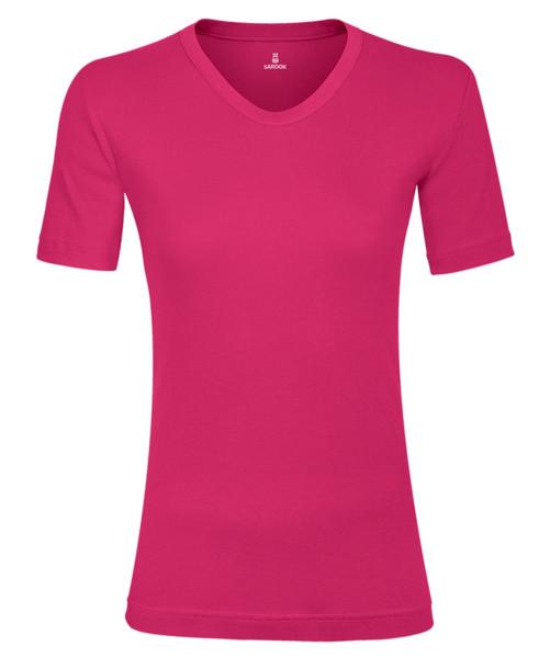 تی شرت زنانه ساروک مدل TZV10 رنگ سرخابی