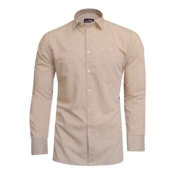پیراهن مردانه نوید مدل TET-DAK کد 20407 رنگ کرم