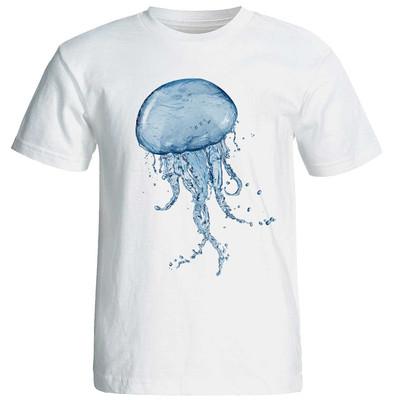 تی شرت زنانه طرح عروس دریایی کد 37175