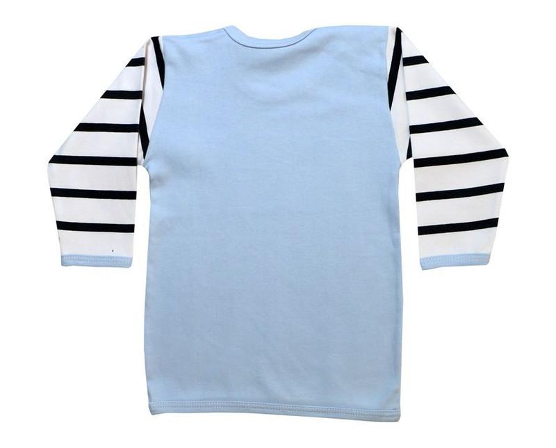 تی شرت آستین بلند نوزادی طرح راکون