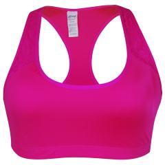 نیم تنه ورزشی زنانه زوم کد 3175-2 رنگ صورتی