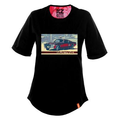 تی شرت زنانه کارزان کد KZ-TS-WB-40