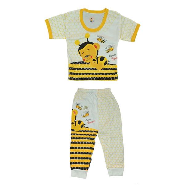 ست تی شرت و شلوار نوزاد کد 231ZA
