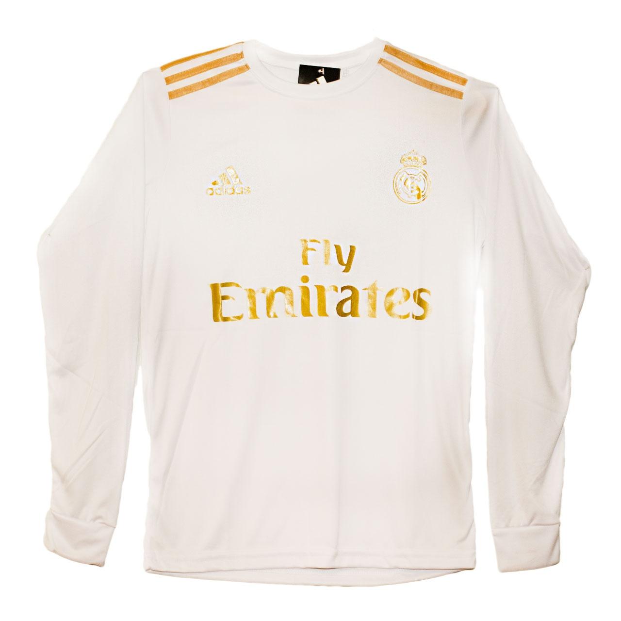 پیراهن ورزشی پسرانه طرح رئال مادرید کد 06