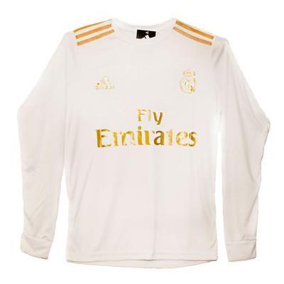 تصویر پیراهن ورزشی پسرانه طرح رئال مادرید کد 06