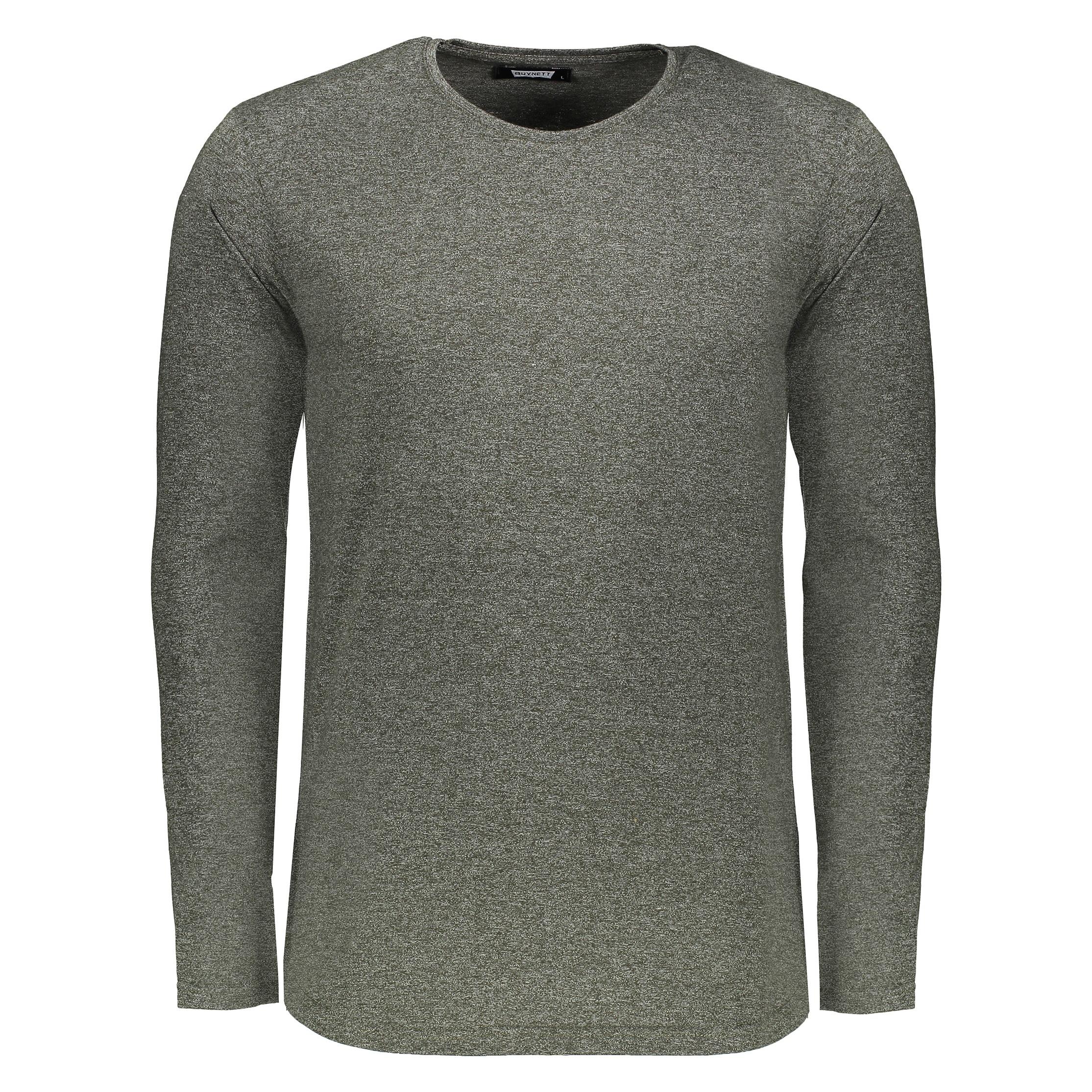 خرید ارزان تی شرت آستین بلند مردانه باینت کد 356